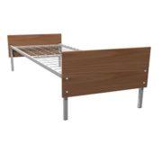 Кровать односпальная металл/ЛДСП 190*70