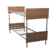 Кровать двухъярусная металл/ЛДСП 190*80