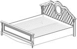 Кровать спальное место 1800*2000